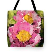 Pretty And Pink Tote Bag
