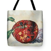 Pretty Apple Tote Bag