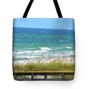 Pretty Blue Gulf Tote Bag