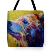 Pretty Boy - Grizzly Bear Tote Bag