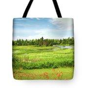 Pretty Countryside Tote Bag