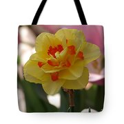 Pretty Daffodil Tote Bag