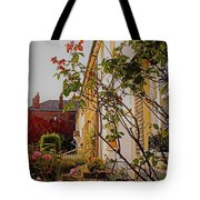 Pretty English Cottage  Tote Bag