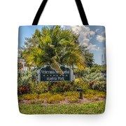 Pretty Garden Tote Bag