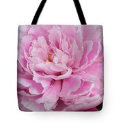 Pretty In Pink Peony Tote Bag