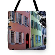 Pretty Lane In Charleston Tote Bag