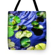 Pretty Lily Pads Tote Bag