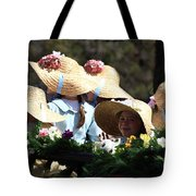 Pretty Little Flower Girls Tote Bag