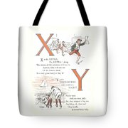 Pretty Name Abc X And Y Tote Bag
