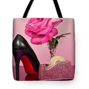 Pretty Pink Bling Office Accessories Tote Bag