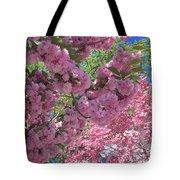 Pretty Pink Blossoms Tote Bag