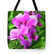 Pretty Pink Sweetpea  Tote Bag