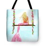 Pretty Pink Swing Tote Bag