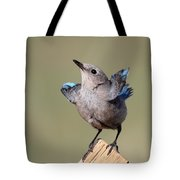 Pretty Pose Tote Bag