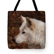 Pretty Profile Tote Bag