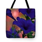 Pretty Petunias Tote Bag