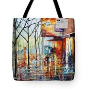 Pretty Rain Tote Bag