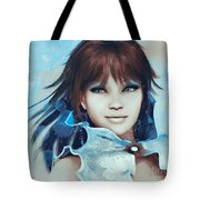 Pretty Smile Tote Bag