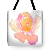 Pretty Watercolor Flower Tote Bag