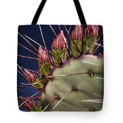 Prickly Buds Tote Bag
