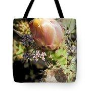 Prickly Pear Flower 4 Tote Bag