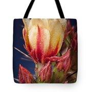Prickly Pear Flower Wet Tote Bag