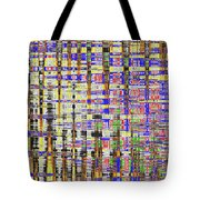Prickly Poppy And Colors Abstract. Tote Bag