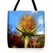 Prickly Thistle Tote Bag