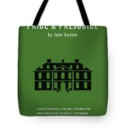 Pride And Prejudice Greatest Books Ever Series 016 Tote Bag