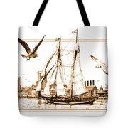 Pride Of Baltimore Tote Bag by John D Benson