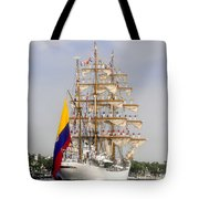 Pride Of Columbia Tote Bag