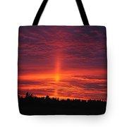 Pride Of The Prairie Sunset Tote Bag