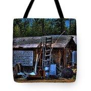 Priest Lake Lumber Mill Tote Bag