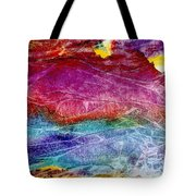 Primal Dawn Tote Bag
