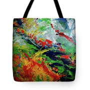 Primary Abstract I Detail 3 Tote Bag