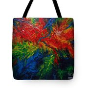 Primary Abstract II Tote Bag