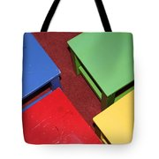 Primary Chairs Tote Bag