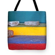 Primary Colored Doorstep Tote Bag