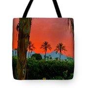 Primary Desert Sunset Tote Bag