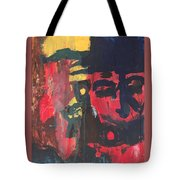 Primary Faces Tote Bag