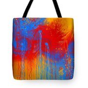 Primary Fluidity Tote Bag