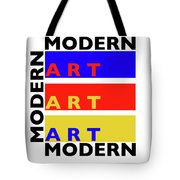 Primary Modern Tote Bag