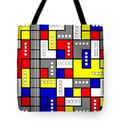 Primary Passion Tote Bag