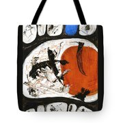 Prime Allotment Abstract Tote Bag
