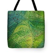 Primitive Abstract 2 By Rafi Talby Tote Bag