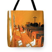 Primitive Church - Sunday Morning Tote Bag