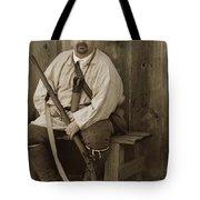 Primitive Man Tote Bag