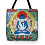 Primordial Buddha Kuntuzangpo Tote Bag
