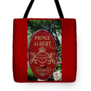 Prince Albert Guest House Sign Provincetown Tote Bag