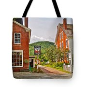 Prince And The Pauper Restaurant In Woodstock-vermont  Tote Bag